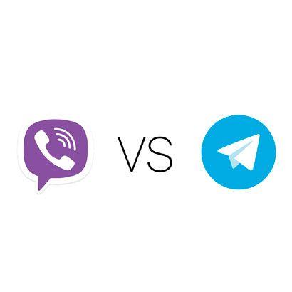 Сравнение Viber и Telegram